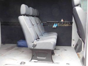 Sprinter Van second row