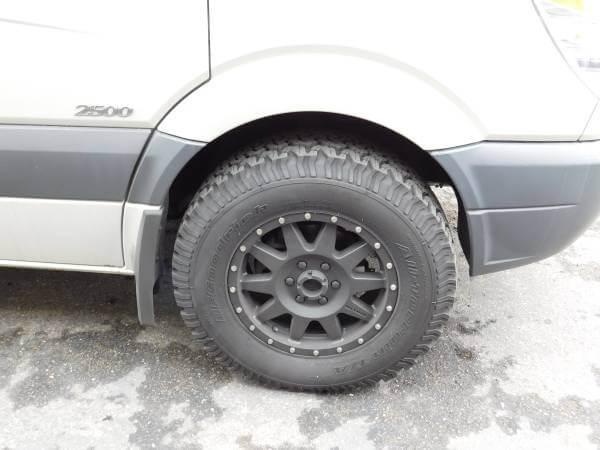Sprinter Van wheels