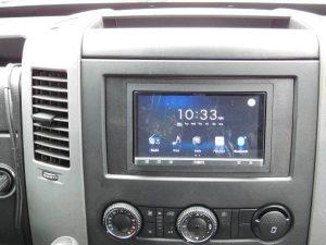 Sprinter van stereo
