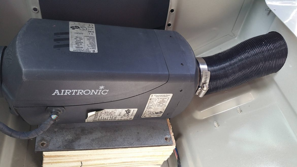 Airtronic d2 install