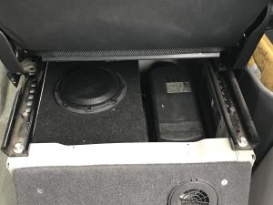 Sprinter Van subwoofer install