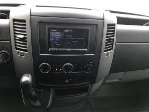 Sprinter Van Stereo Dash