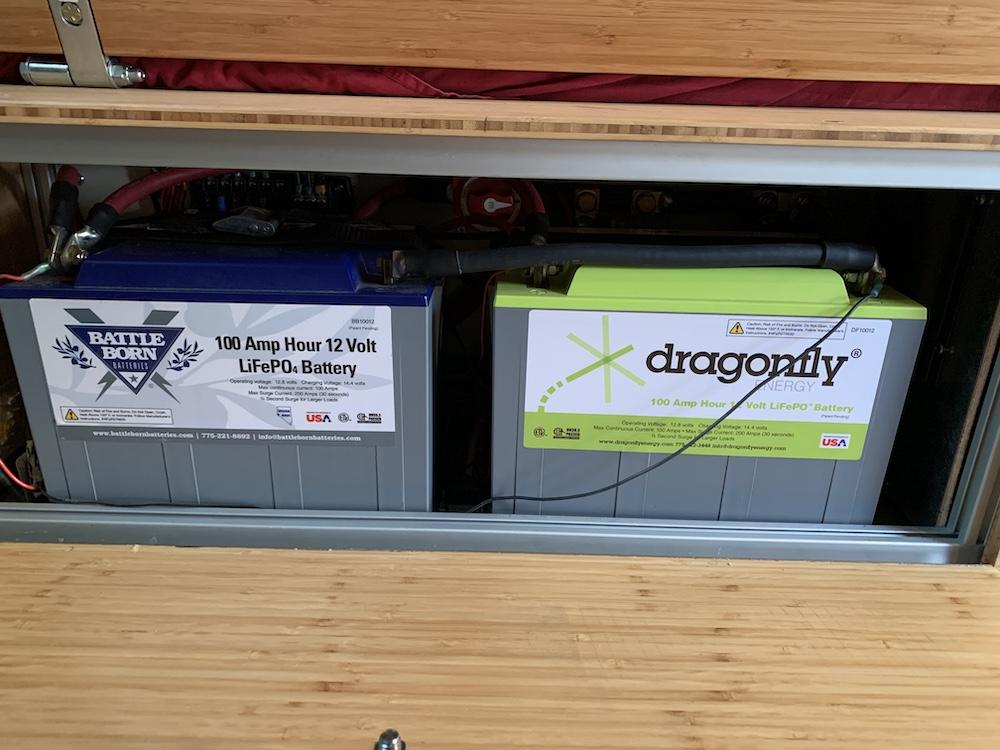 Sprinter Battery Upgrade