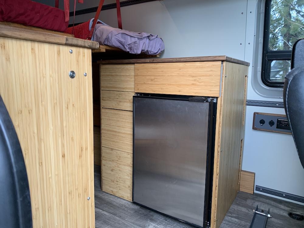 Sprinter Fridge Cabinet