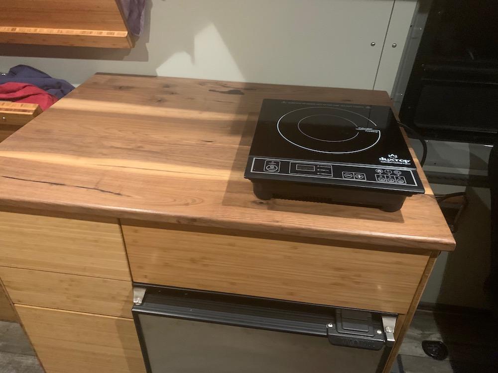 Sprinter Kitchen Cooktop